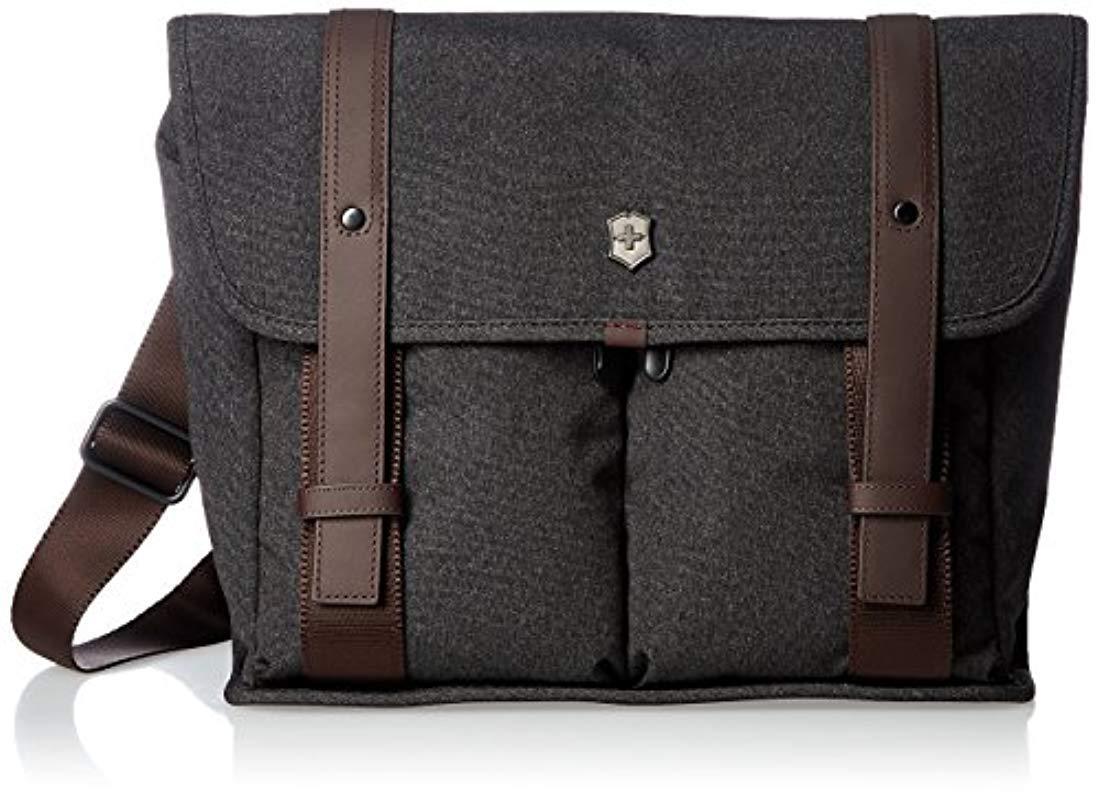 64dc2672d5 Lyst victorinox architecture urban lombard laptop messenger bag jpg  1099x800 Uban laptop cross body bag