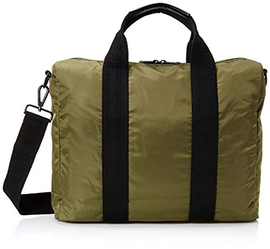 cb430b7dd501 Fred Perry Sports Nylon Work Bag, Olive, One Size in Green for Men ...