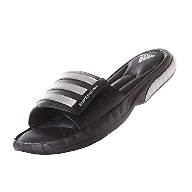84c4ba6d63bd Lyst - adidas Performance Superstar 3g Slide Sandal in Black for Men