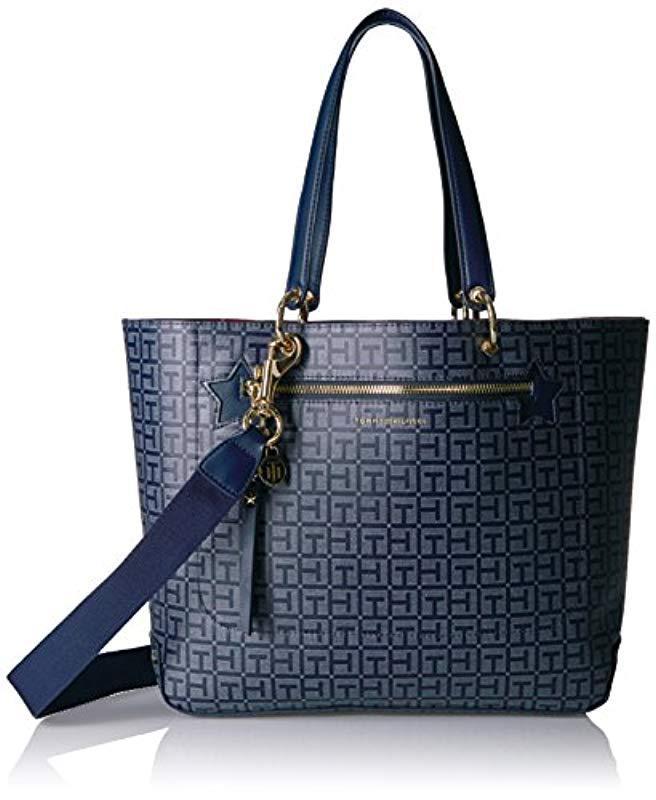 64dfcb1c831 Lyst - Tommy Hilfiger Tote Bag For Item in Blue