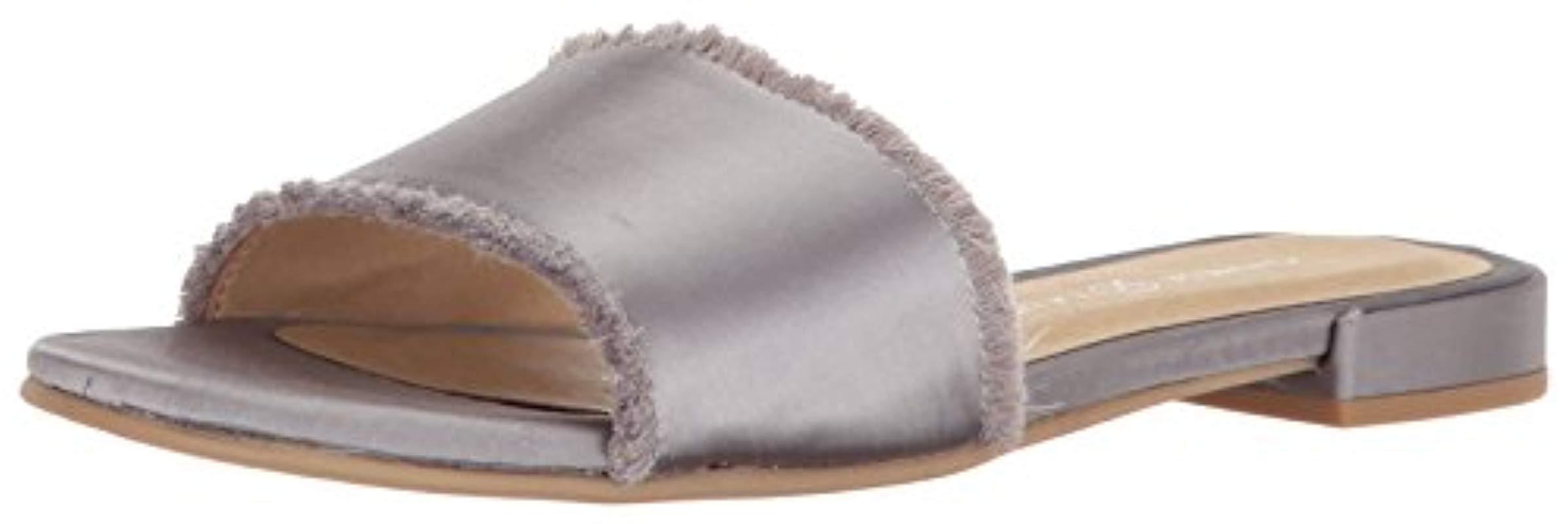 817d92b140eb Lyst - Chinese Laundry Pattie Slide Sandal in Metallic - Save ...