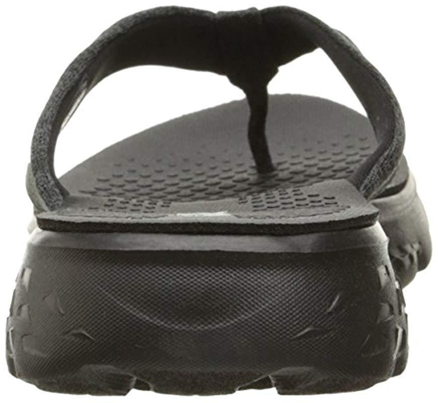 ce865f98ca1 Skechers - Black Performance On The Go 400 Vivacity Flip Flop - Lyst. View  fullscreen