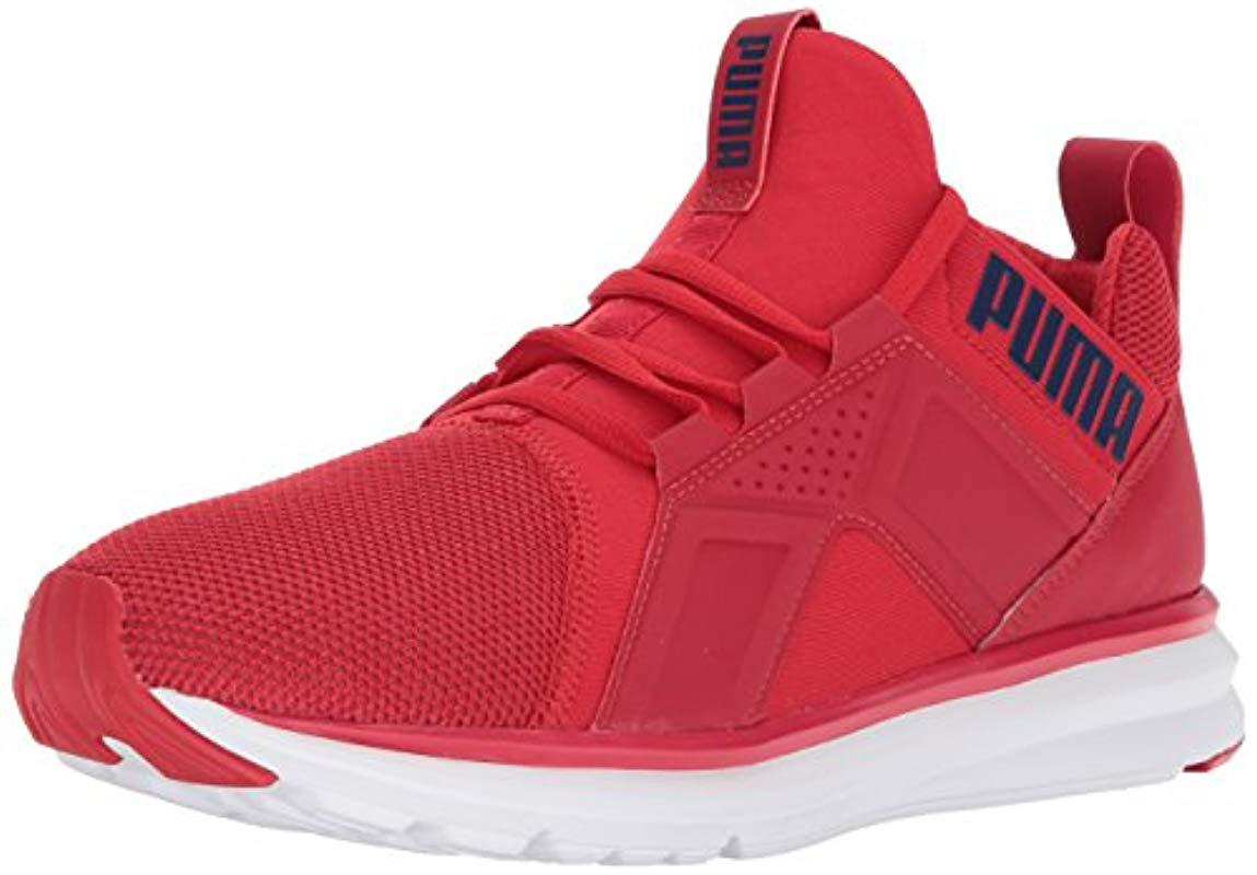 ab4d9986d3bb Lyst - PUMA Enzo Mesh Wide Sneaker in Red for Men
