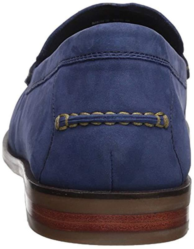 50ef79d2f57 Lyst - Cole Haan Pinch Friday Tassel Contemporary Penny Loafer in Blue for  Men - Save 25%