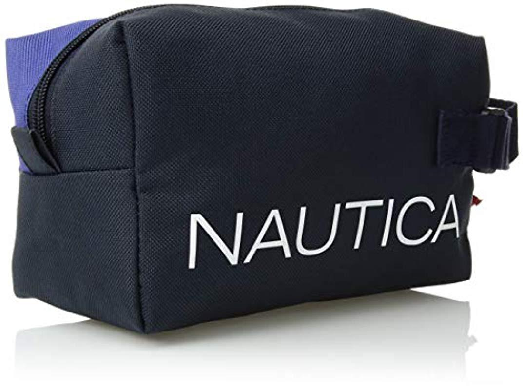 362314e540cf Lyst - Nautica Canvas Toiletry Bag Travel Kit Organizer in Blue for ...