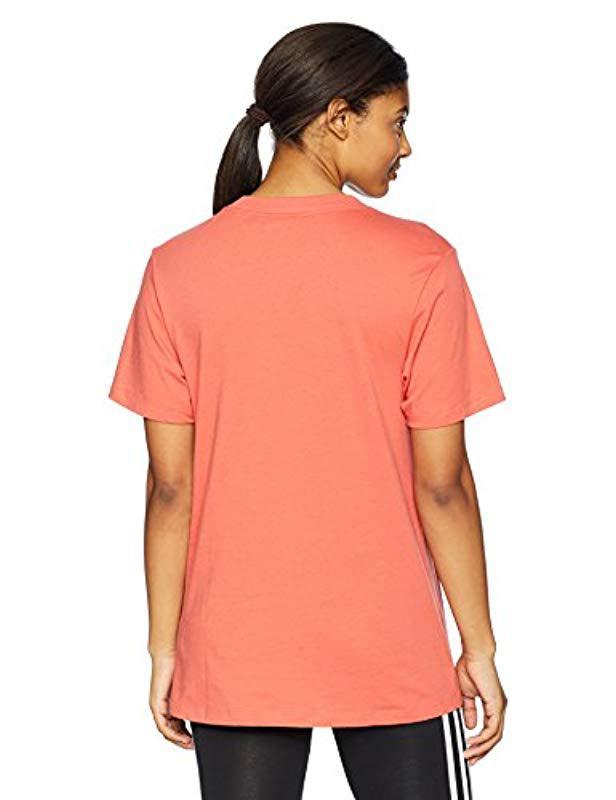 edce70c03f3 Lyst - adidas Originals Adibreak Logo Tee in Orange