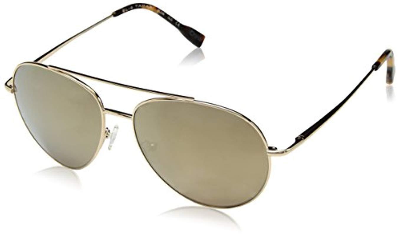 303e51daec4 Sam Edelman. Women s Metallic Elie Tahari El238 Gld Aviator Sunglasses