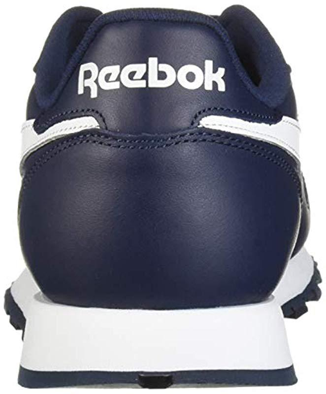 f962c53c643 Lyst - Reebok Classic Leather Sneaker in Blue for Men - Save 1%