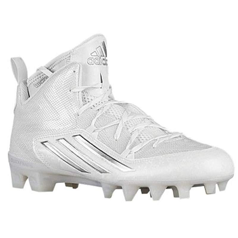 purchase cheap 7376c 1c31a adidas. Men s White Performance Crazyquick 2.0 Mid Football Cleat