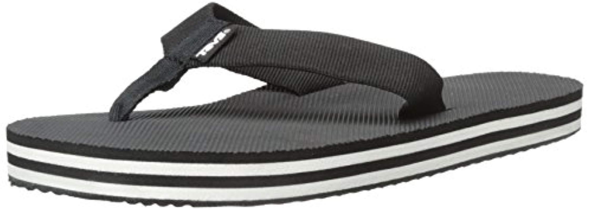 12ad9777a60b2b Lyst - Teva Deckers Flip-flop in Black