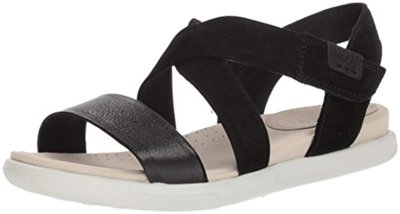 e999ad6c26c5 Lyst - Ecco Damara Crisscross Gladiator Sandal in Black - Save 45%