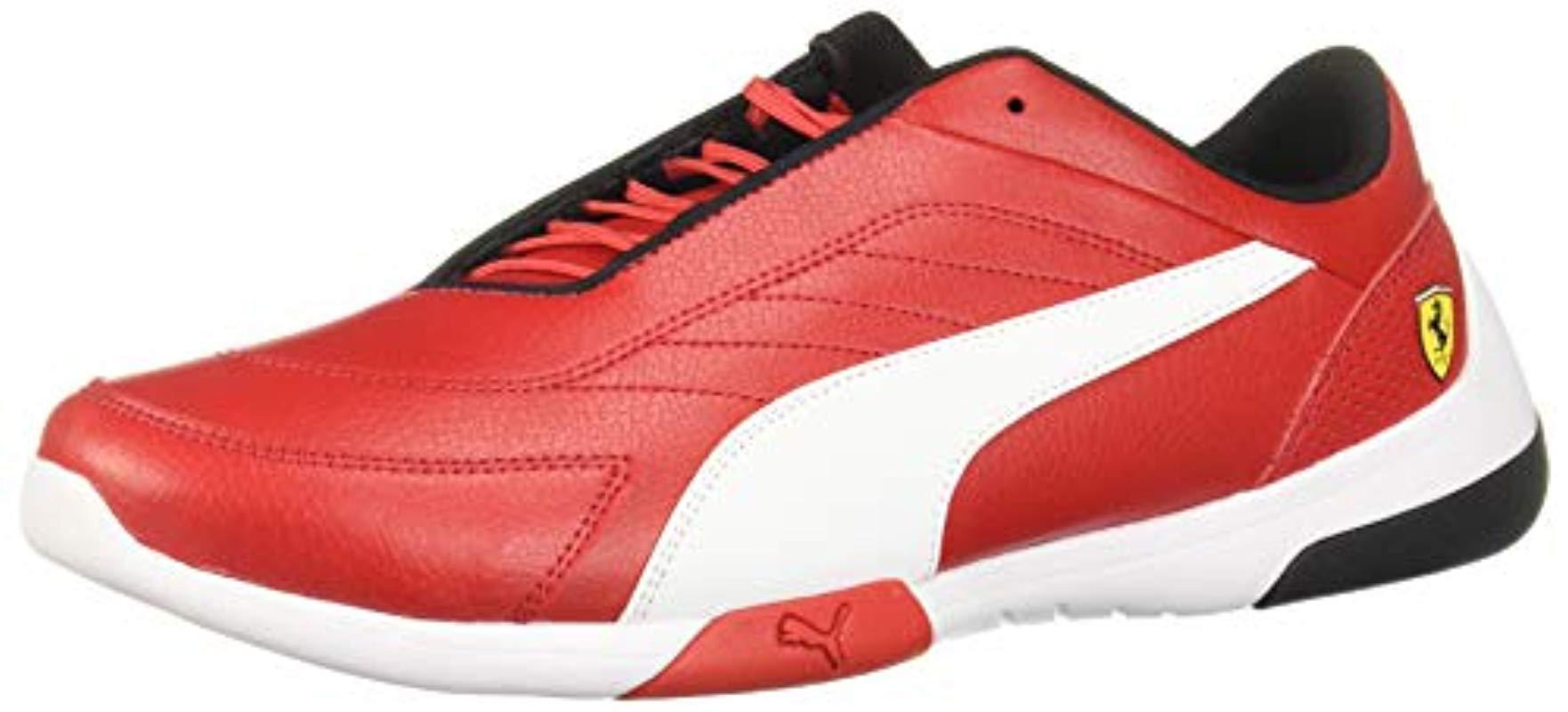 ecf289b55a5ee5 Lyst - PUMA Ferrari Kart Cat Sneaker in Red for Men
