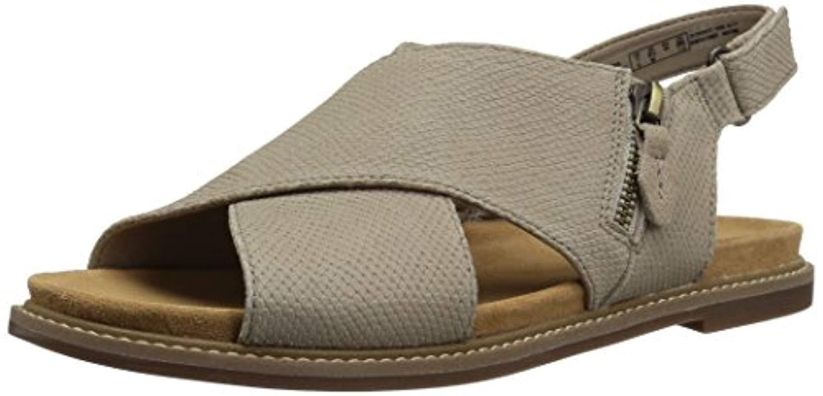 afc9647c1a3 Clarks - Multicolor Corsio Calm Flat Sandal - Lyst. View fullscreen