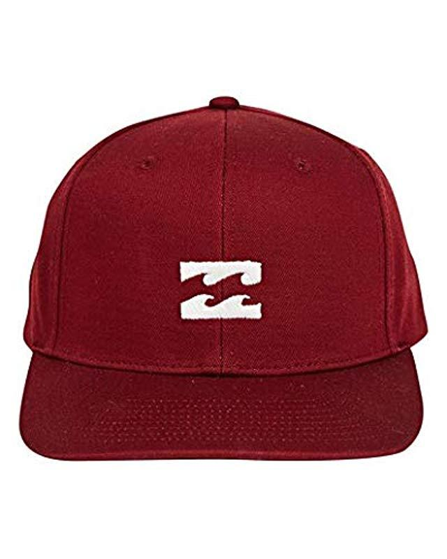 69232ad5 Lyst - Billabong Classic Snapback Hat in Red for Men