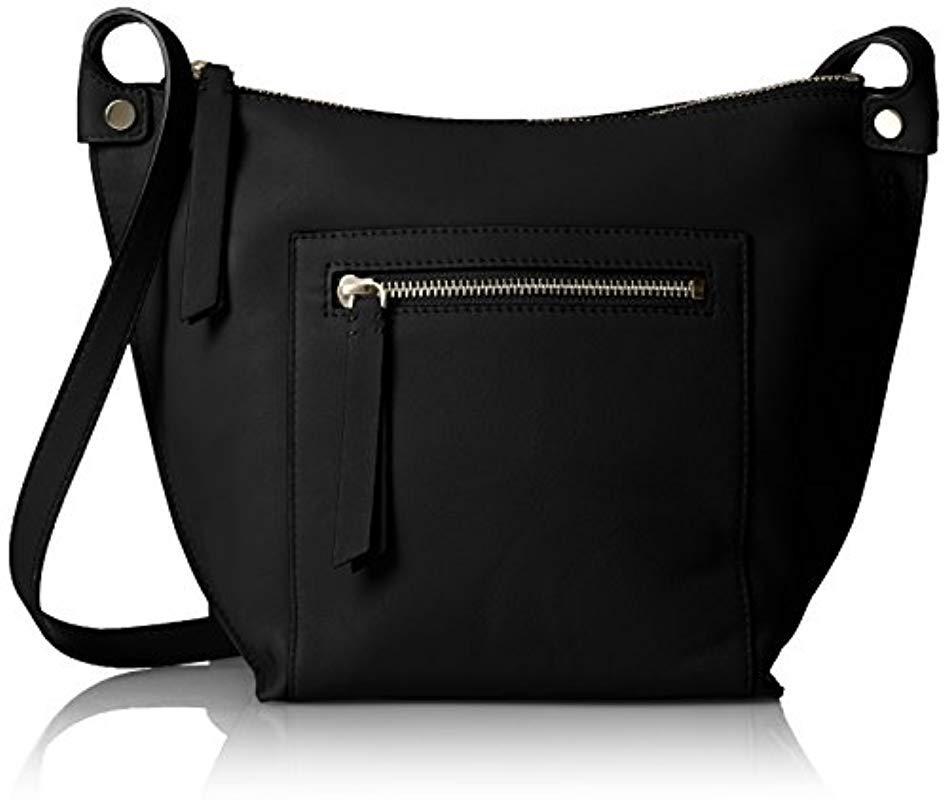 2d32044ac8cf Lyst - Ecco Sculptured Crossbody Cross-body Bag in Black