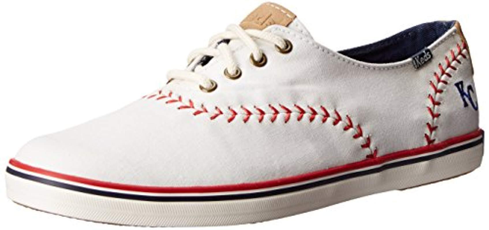 033b818736b7b Keds - Multicolor Champion Mlb Pennant Baseball Fashion Sneaker - Lyst.  View fullscreen