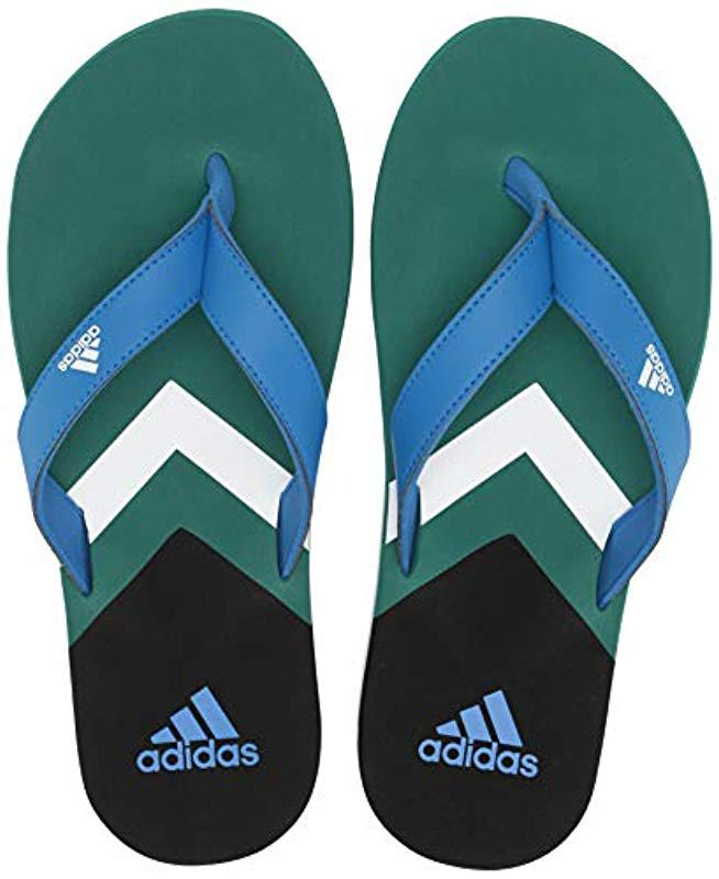 new style 85eda f886a Adidas - Multicolor Eezay Flip Flop for Men - Lyst. View fullscreen