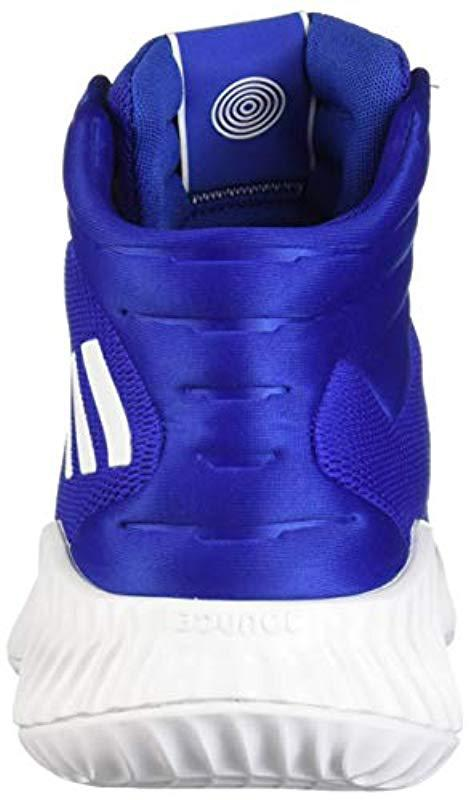c4992f49d9504 Adidas Originals - Blue Pro Bounce 2018 Basketball Shoe for Men - Lyst.  View fullscreen