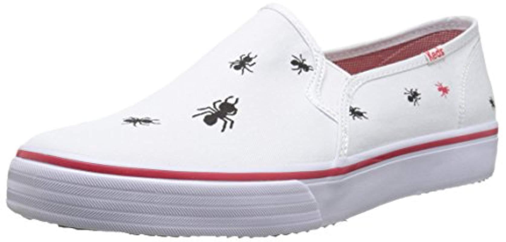 f0ba1180bf Lyst - Keds Double Decker Picnic Slip-on Sneaker in White