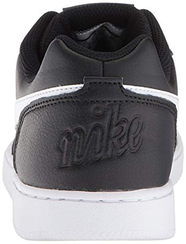 d667f75c295 Lyst - Nike Ebernon Low Basketball Shoe in Black for Men