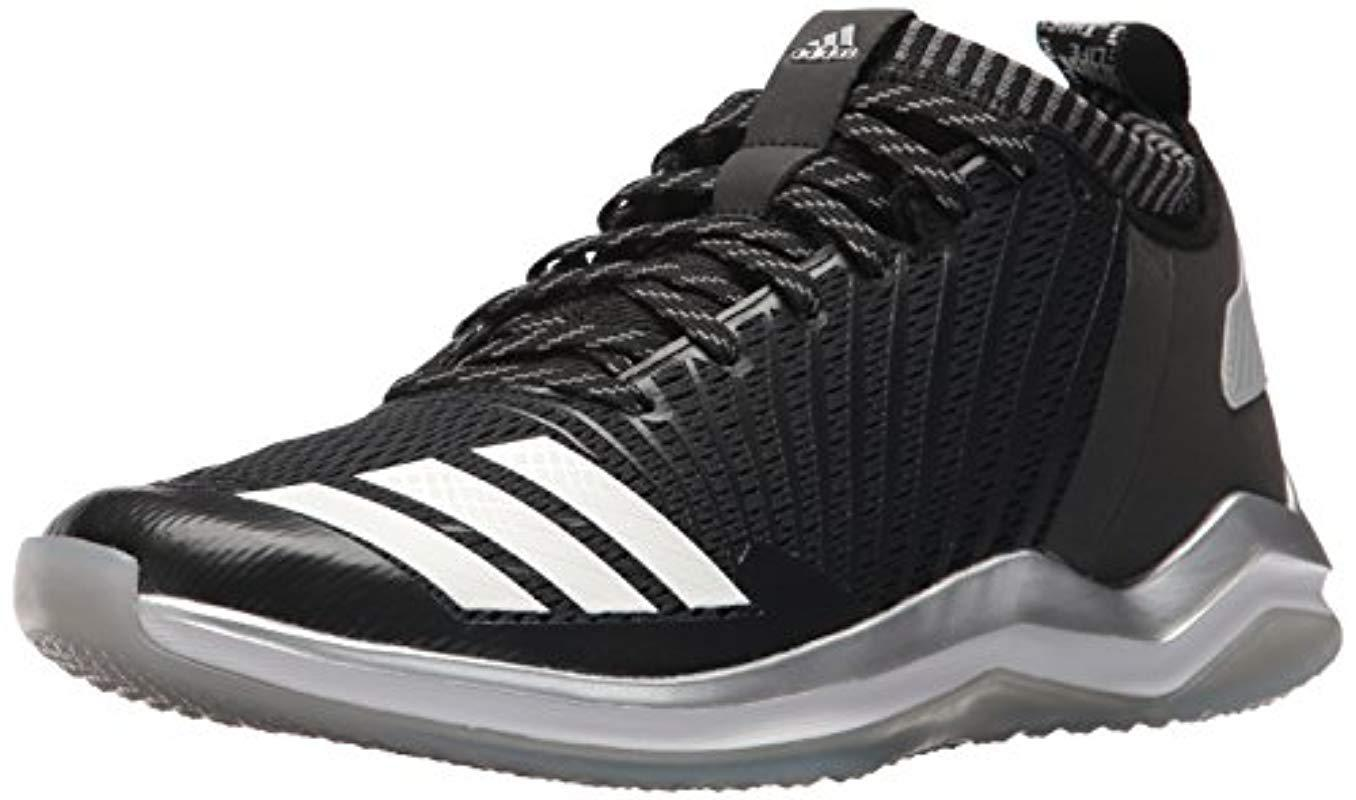 2c9266bfc8467f Lyst - Adidas Freak X Carbon Mid Baseball Shoe in Black for Men ...