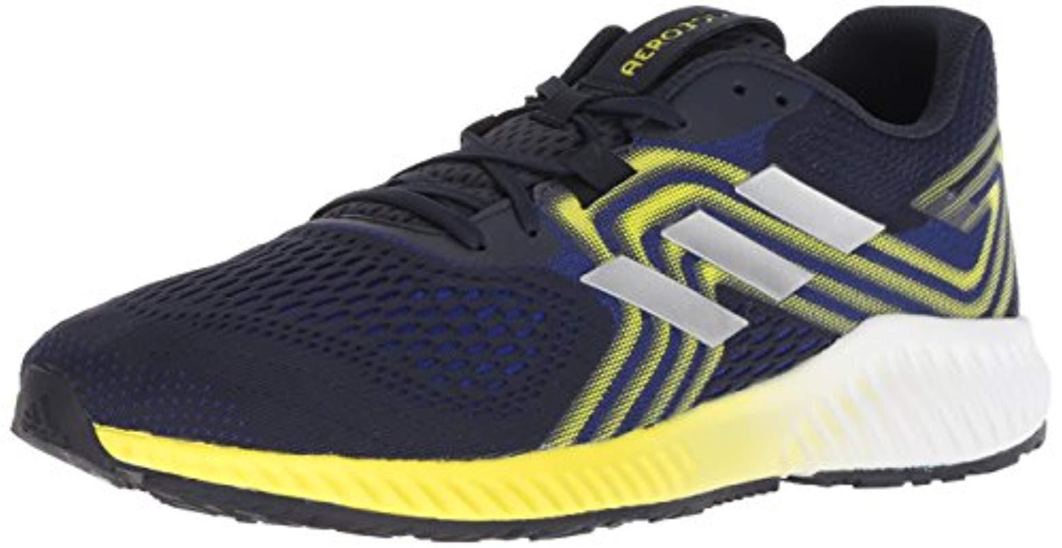 fe1120940851 adidas Originals Aerobounce 2 Running Shoe in Blue for Men - Lyst
