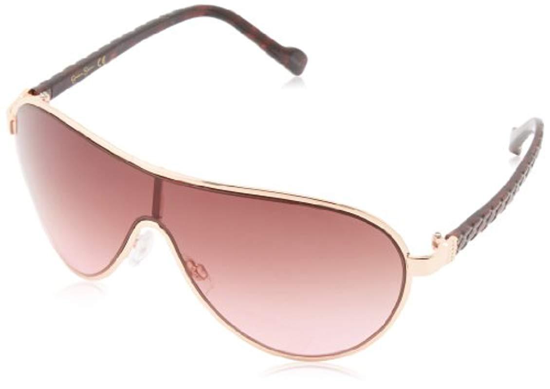 49abaf89cac Sam Edelman. Women s Pink Jessica Simpson J5087 Rgd Modified Aviator  Sunglasses