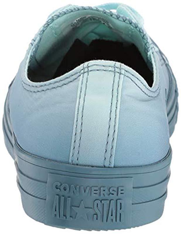 8f2eb195485e Lyst - Converse Unisex Chuck Taylor All Star Dip Dye Low Top Sneaker in Blue
