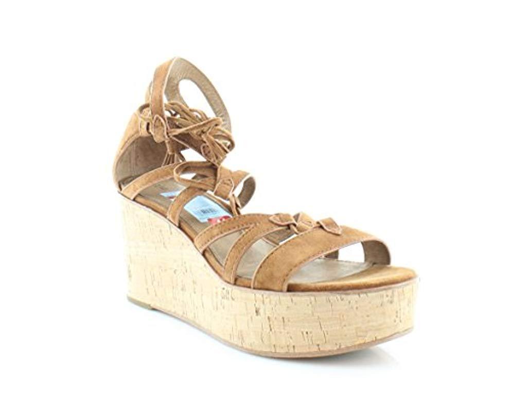 Heather Sandals Gladiator Suede Shoes Wedge Sandal Frye Women's I7bfyY6gv