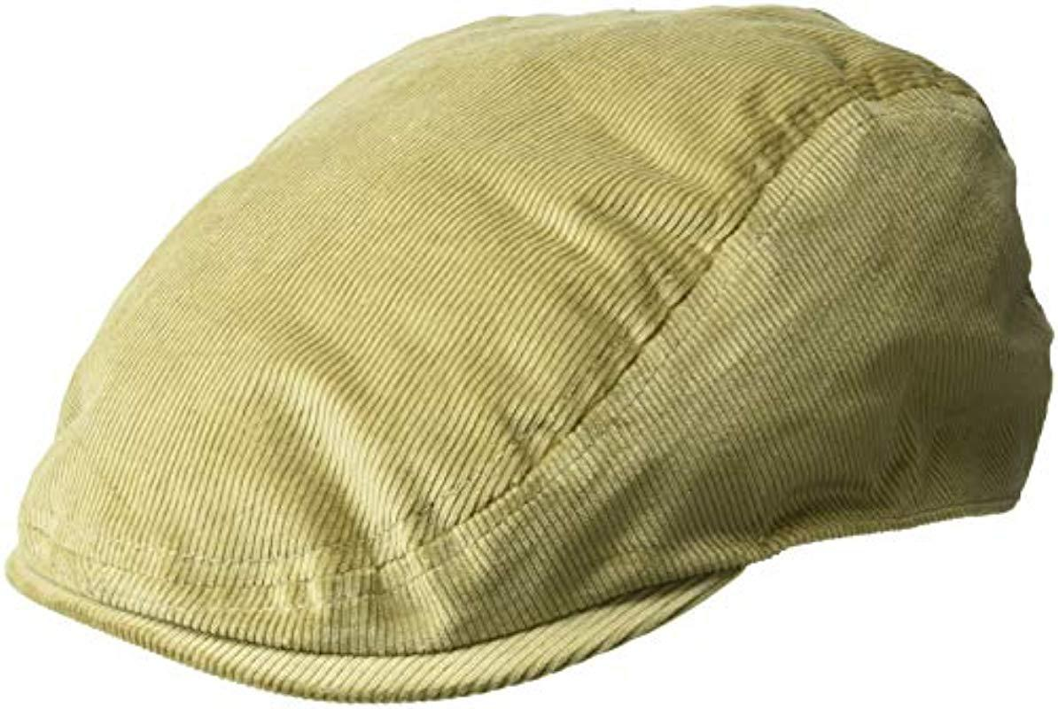 Lyst - Kangol Cord Flat Ivy Cap Hat in Natural for Men - Save 4% a0997992398