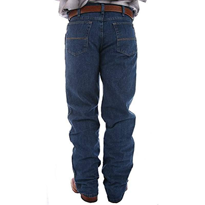 85aeb5b9 Lyst - Wrangler Big & Tall 20x No. 23 Relaxed-fit Over-boot Jean in ...