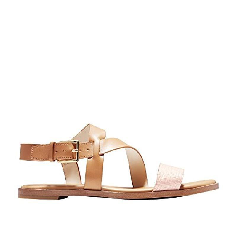 263910d2b546 Cole Haan. Women s Findra Strappy Sandal Ii Flat
