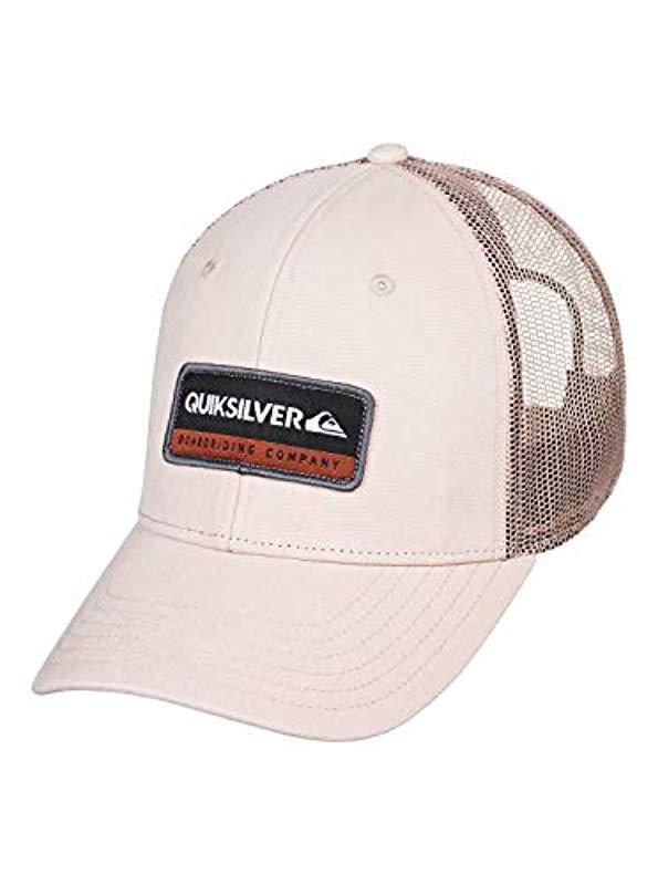 dfadc964 Quiksilver - Multicolor Rinsed Trucker Hat for Men - Lyst. View fullscreen