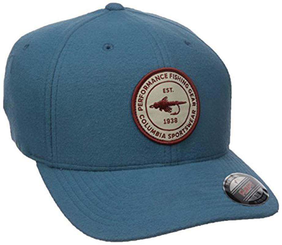 12bd1fa683a Columbia - Blue Northern Lake Hat for Men - Lyst. View fullscreen