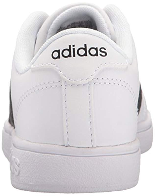 Lyst - Adidas Neo Baseline Fashion Sneaker in White for Men - Save 1.538461538461533%