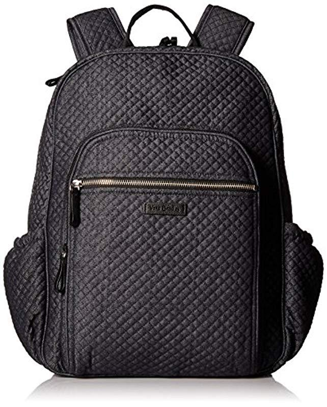 9e2571c03e37 Lyst - Vera Bradley Iconic Campus Backpack in Blue