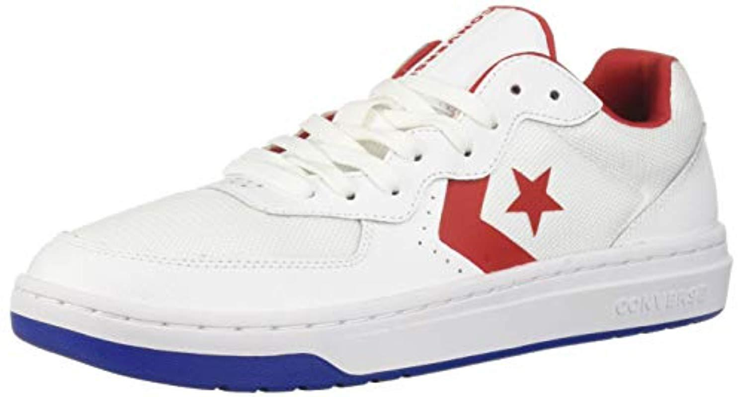 1b1fbe997c2ef6 Lyst - Converse Unisex Rival Low Top Sneaker in White for Men