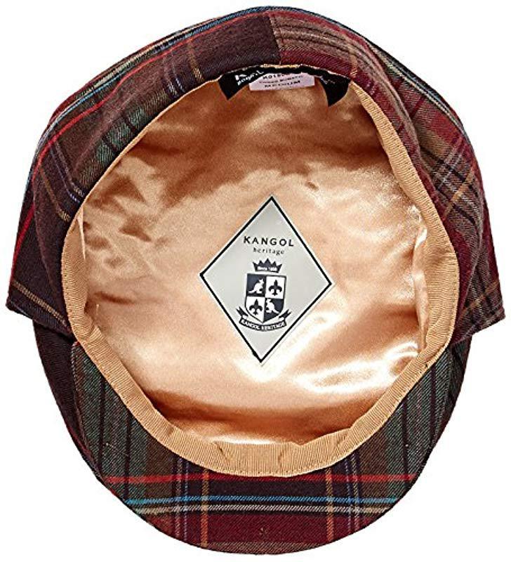 Lyst - Kangol Tweed Bugatti Cap for Men - Save 30% 47daab3b6d77
