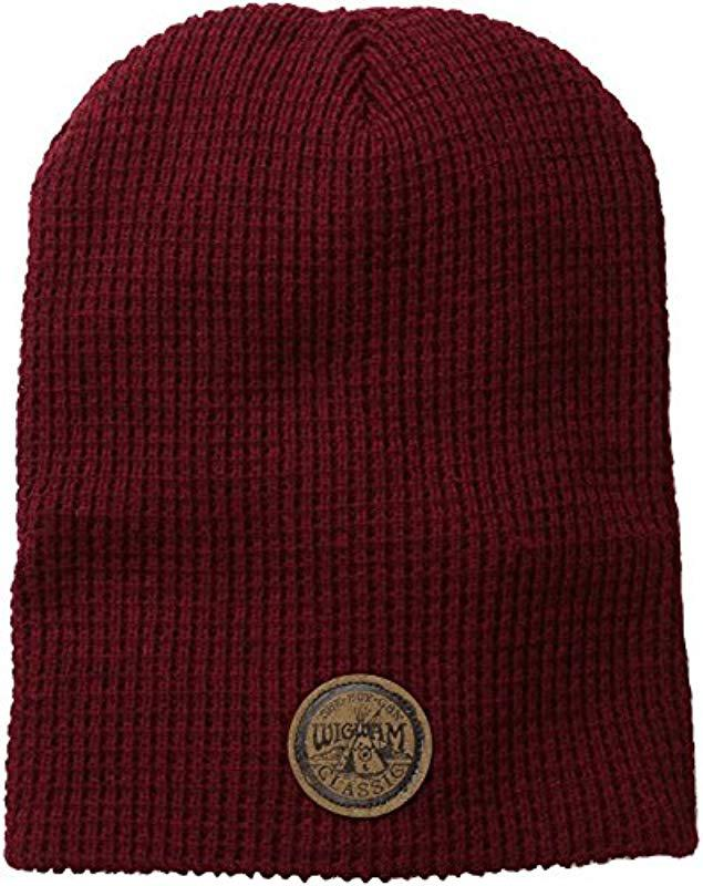 b682f2726db Lyst - Wigwam Urban Slouch Hat in Red for Men - Save 65.0%