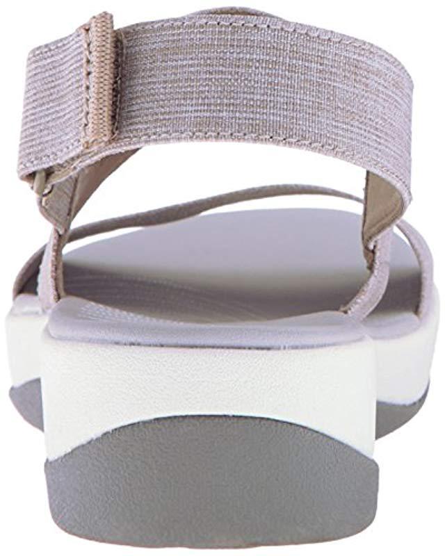 fcee42fac90c35 Lyst - Clarks Arla Jacory Wedge Sandal - Save 46%