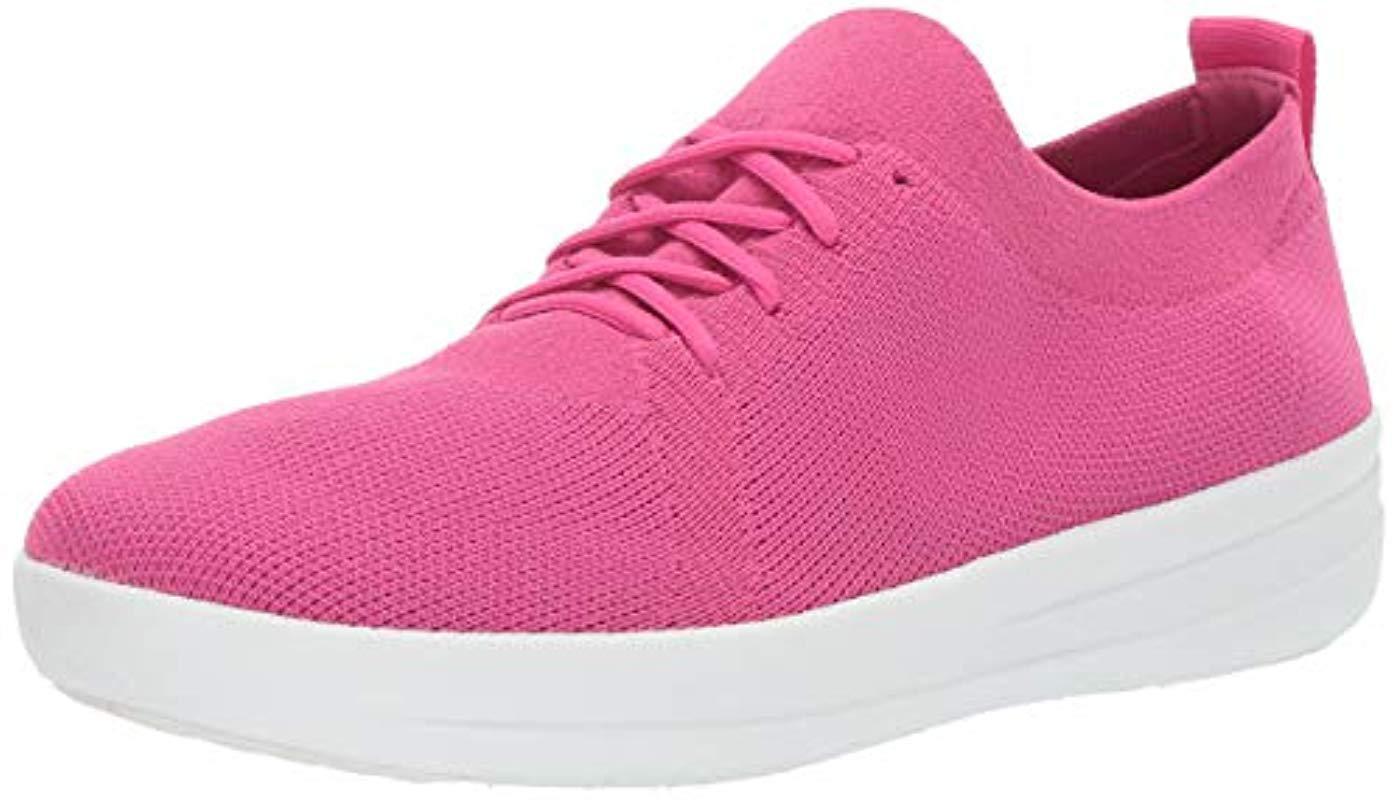 b0978a860 Lyst - Fitflop F-sporty Uberknit Sneakers in Pink