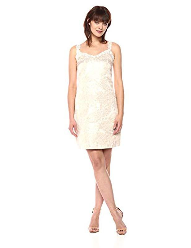 865c3e933f36 Lyst - T Tahari Kianna Dress in White - Save 73%