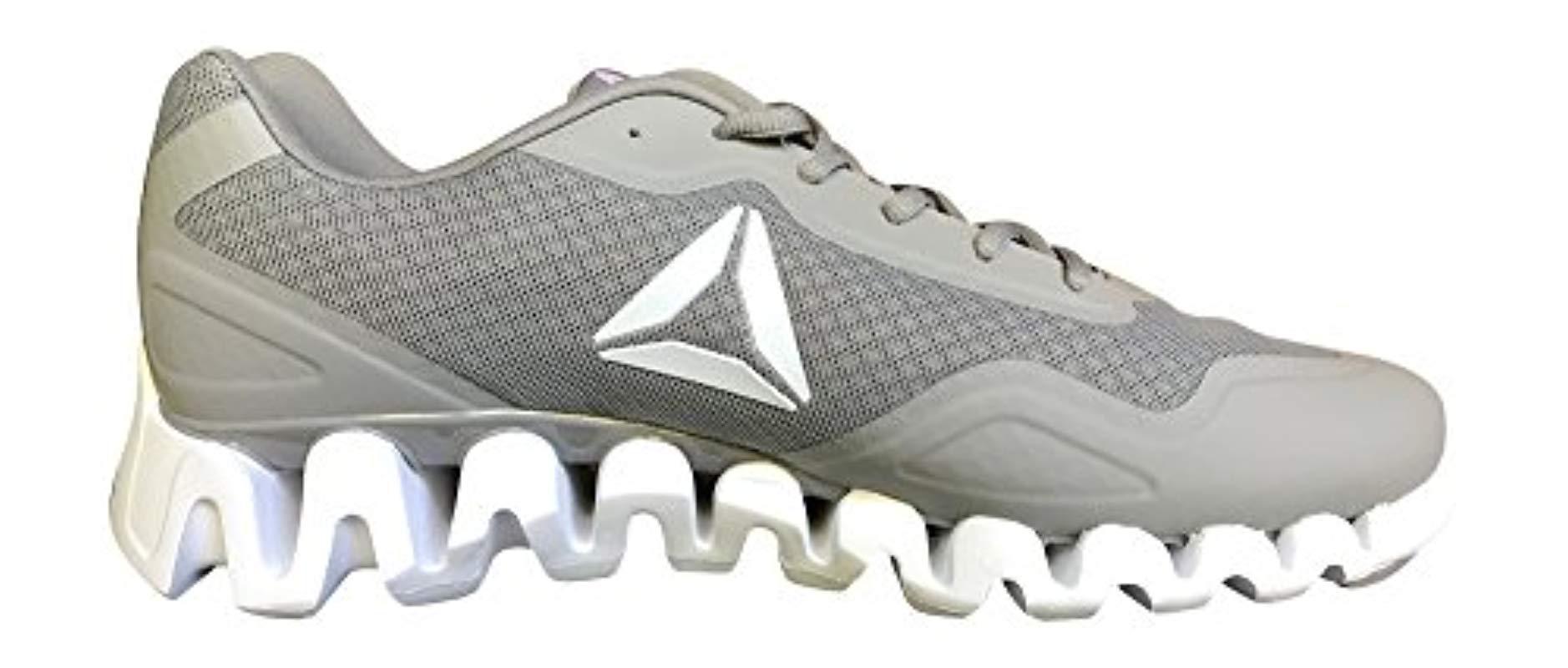 Reebok - Gray Zigpulse Running Shoe Carbon for Men - Lyst. View fullscreen 24cb063ec