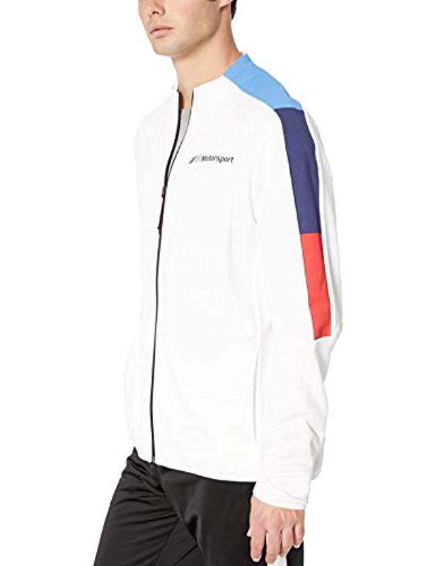 a188829d7811 PUMA - White Bmw Motorsport Mms T7 Track Jacket for Men - Lyst. View  fullscreen