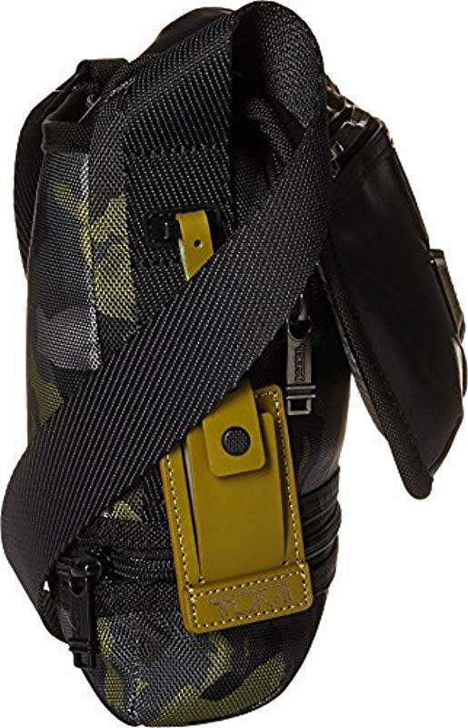 3e5b3b3e63a7 Lyst - Tumi Alpha Bravo Travis Crossbody Cross Body Bag in Green for Men