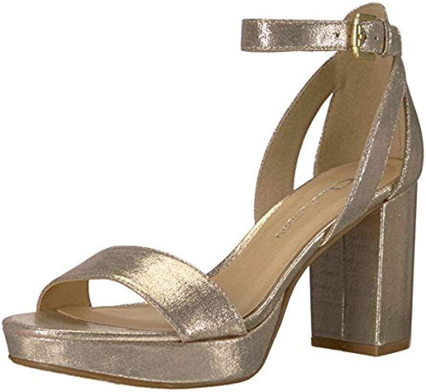 9ef53d3e16d Lyst - CL By Chinese Laundry Go On Platform Dress Sandal in Metallic