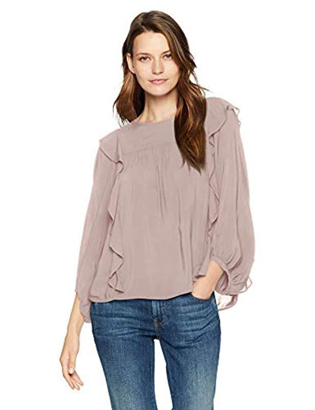 a73182f7794803 Velvet By Graham   Spencer. Women s Yena Rayon Challis Blouse