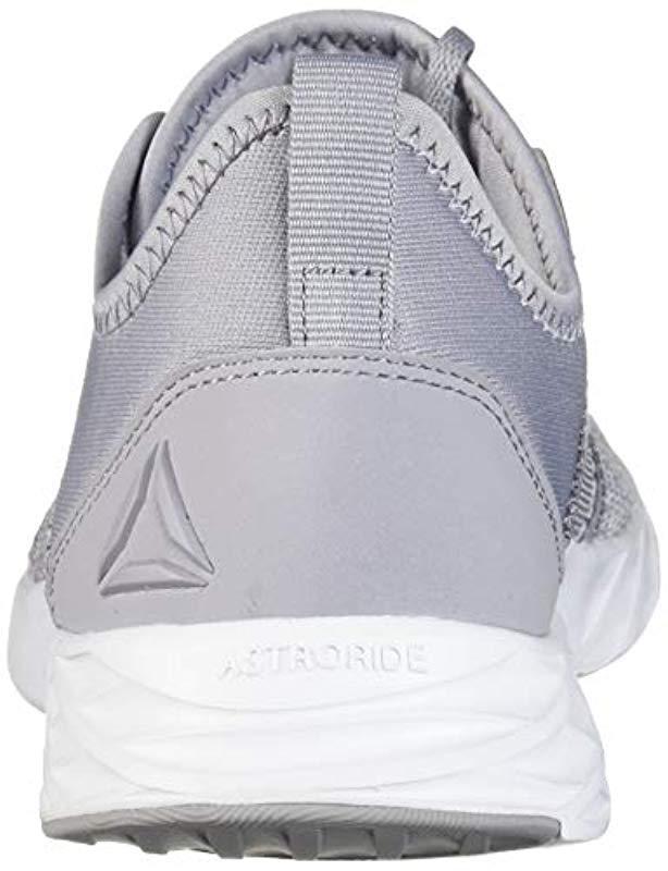 0d89eb46ef0b Lyst - Reebok Astroride Edge Running Shoe in Gray