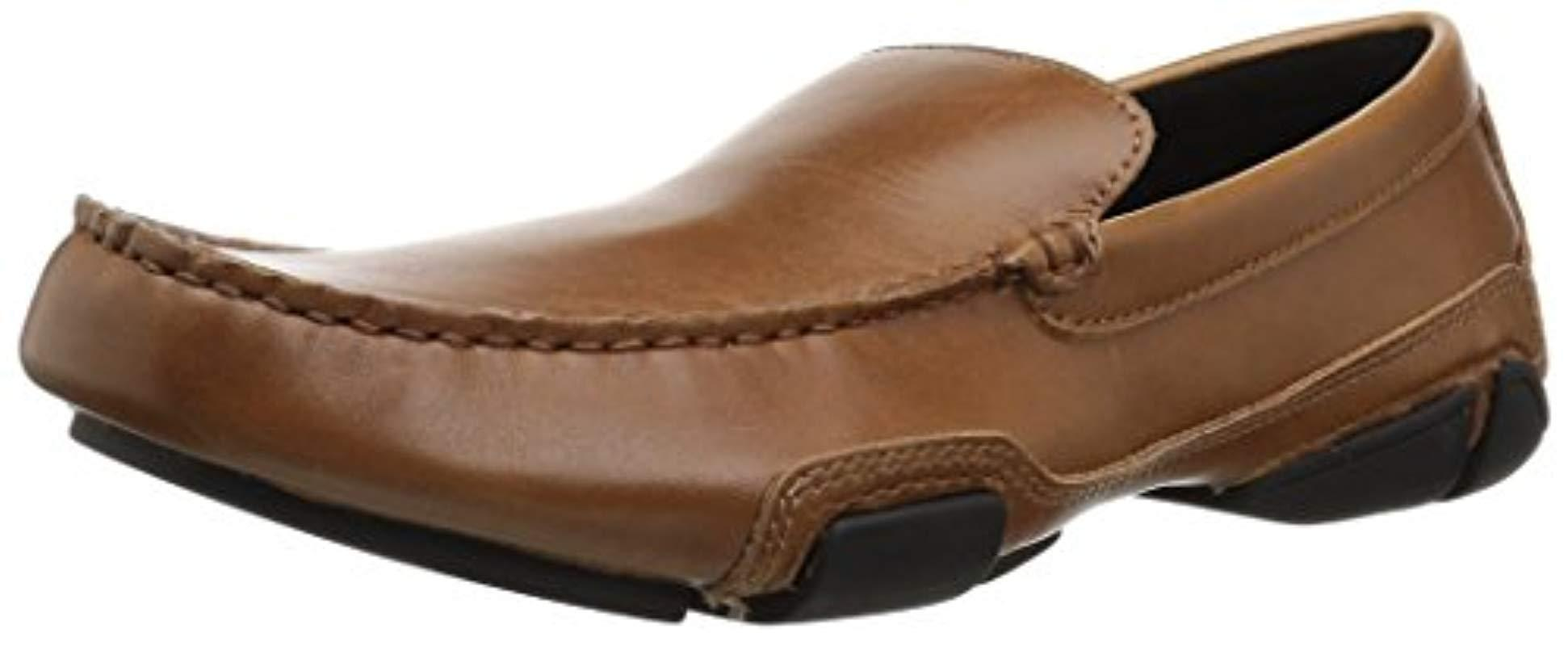 64723413694 Lyst - Kenneth Cole Reaction World Hold On Loafer in Brown for Men