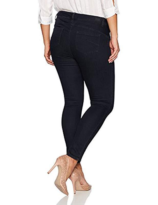 3d206aa423e7e Lyst - Jones New York Plus Size Madison Slim Denim Jean in Blue
